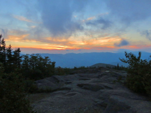 View from top of Hurricane Mountain