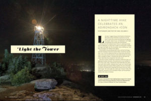 Light the Tower - A nighttime hike celebrates an Adirondack icon