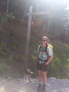 Summit Steward Addie Wilson 2019